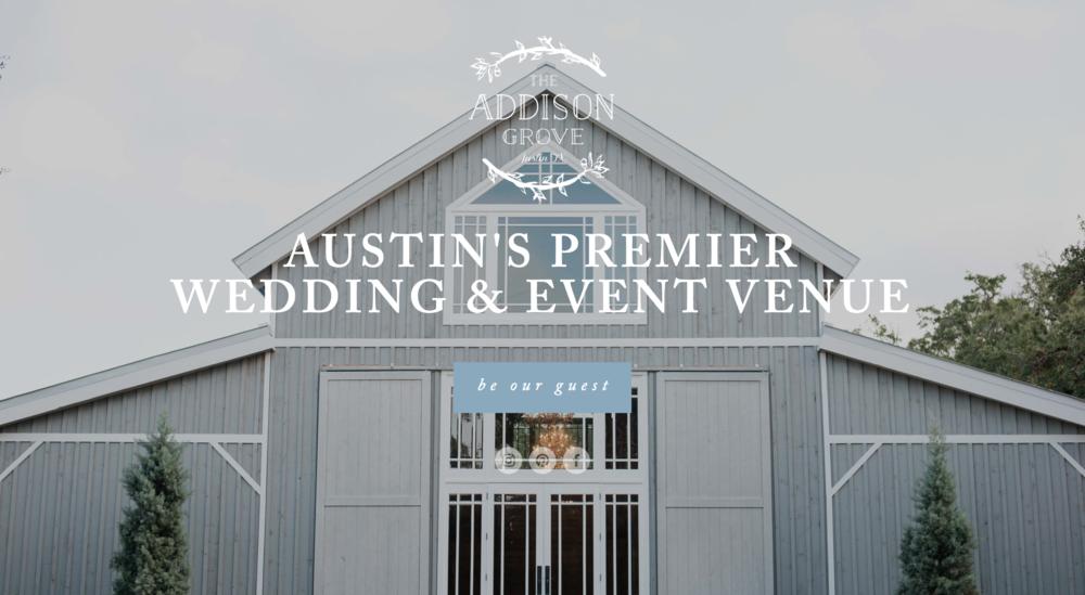 The Addison Grove Wedding Website
