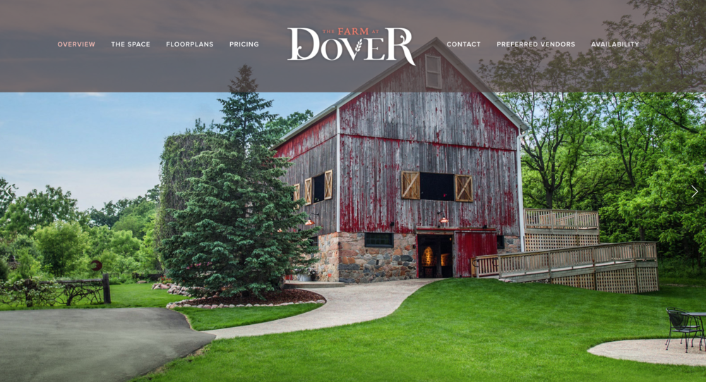 The Farm at Dover Website