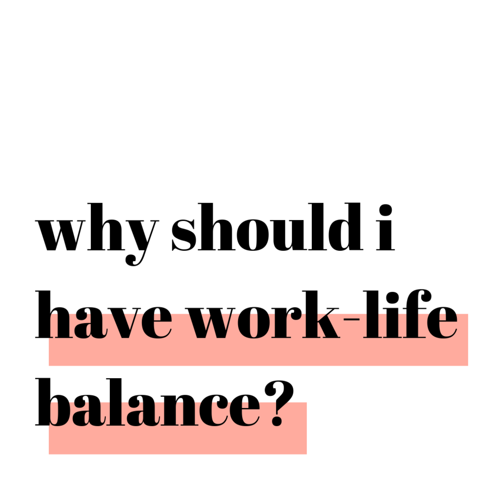 Why Should I Podcast: Why Should I Have Work-Life Balance