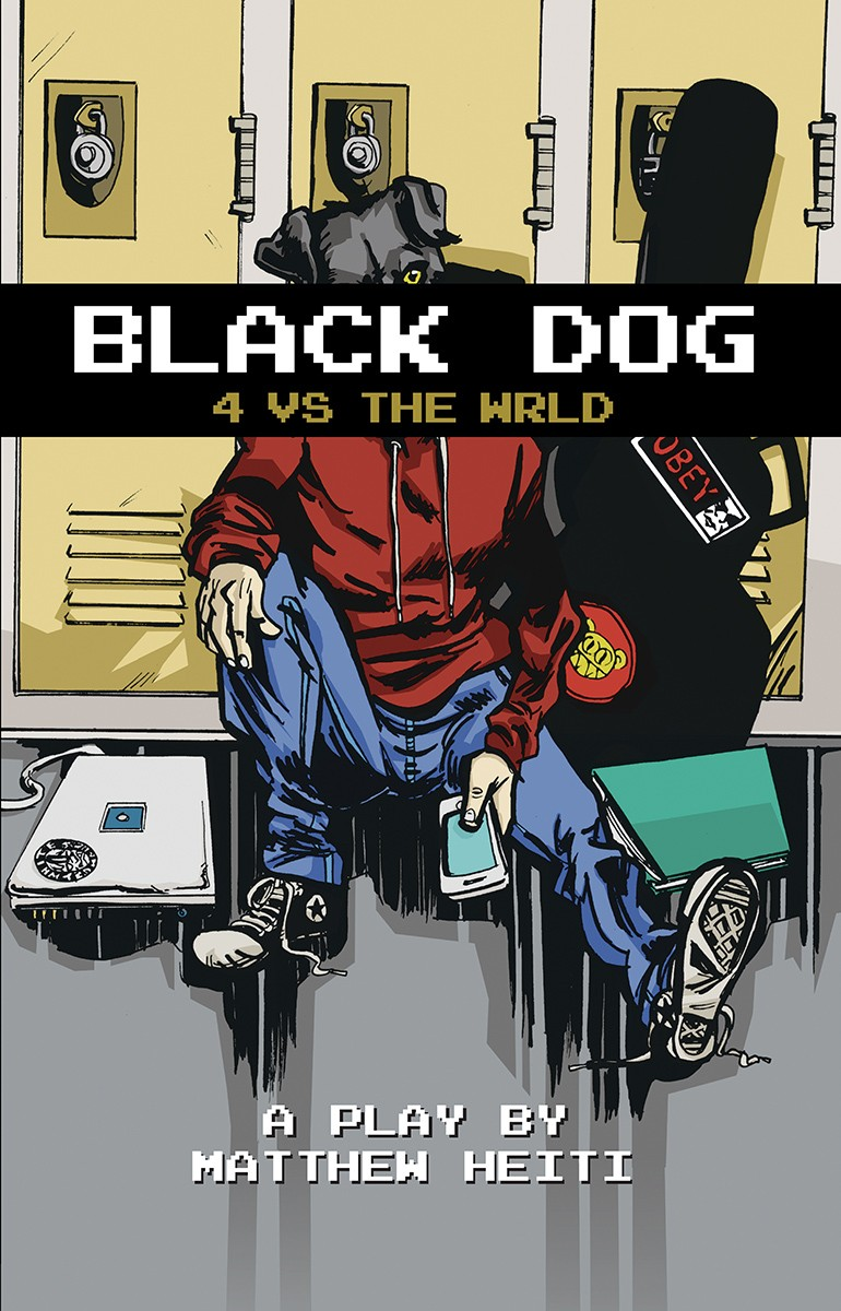 """Black Dog: 4 vs the wrld"" by Matthew Heiti"