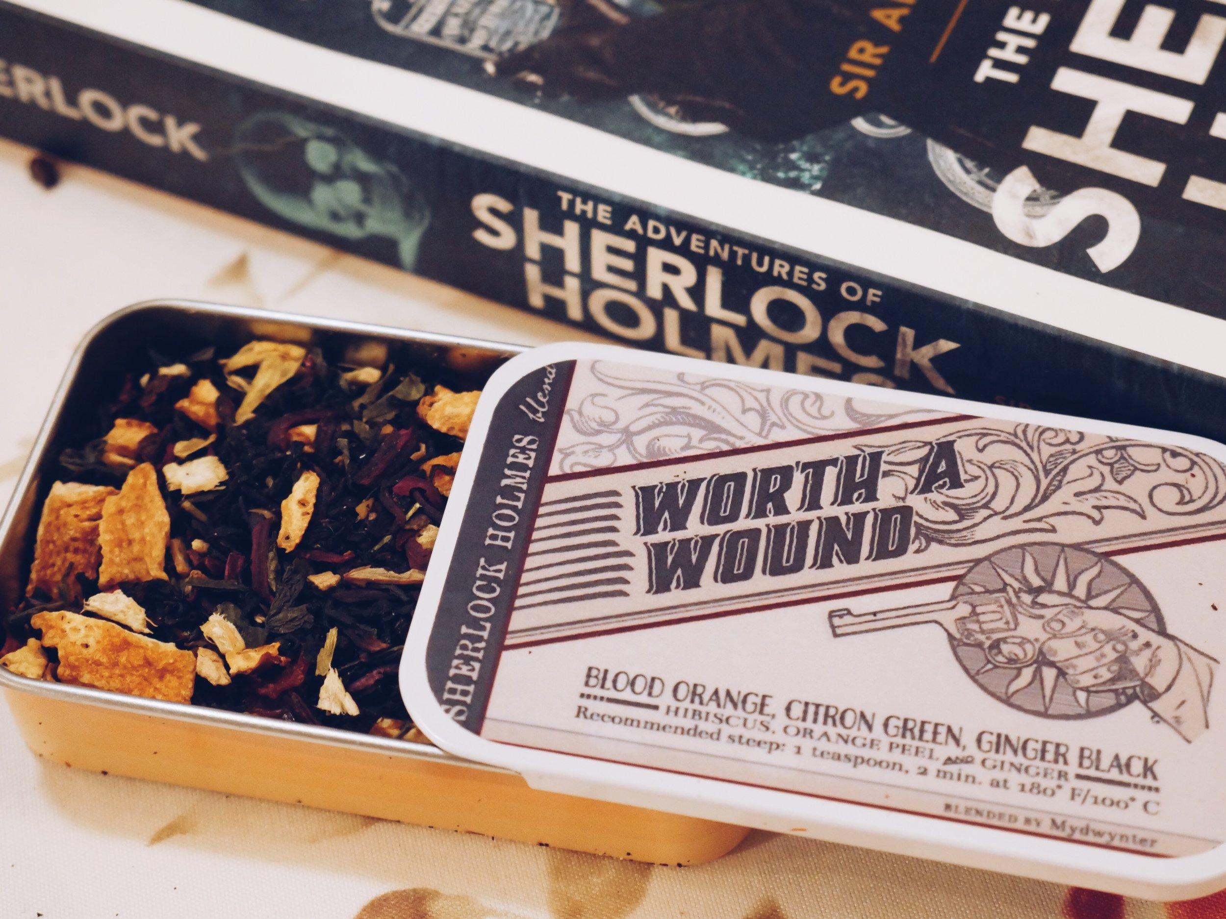 Adagio Sherlock Holmes fandom blend