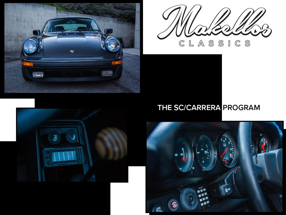 - The SC/Carrera Program harnesses the flexibility of the G-Body 911 to provide customers with a solid foundation for a variety of on and off-road vehicle applications.