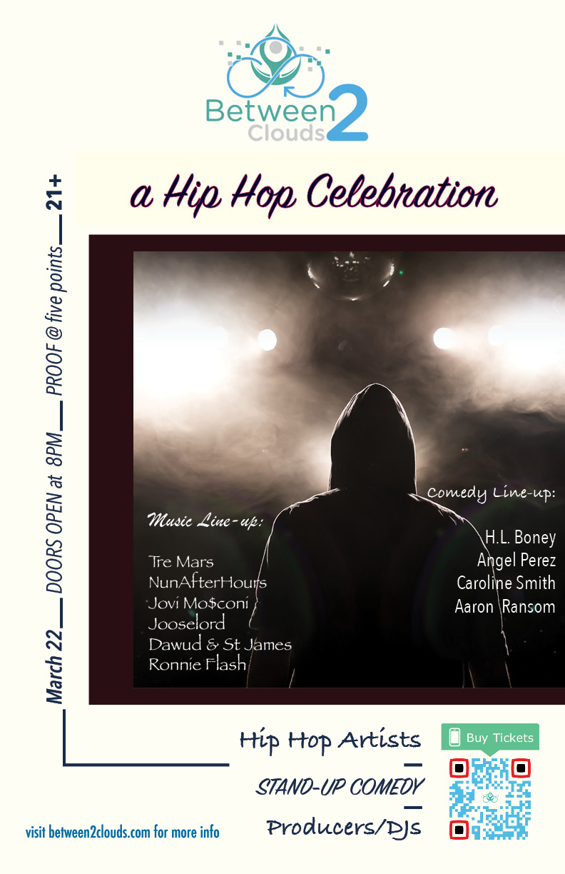 Ticket Link: http://between2clouds.ticketbud.com/ahiphopcelebration