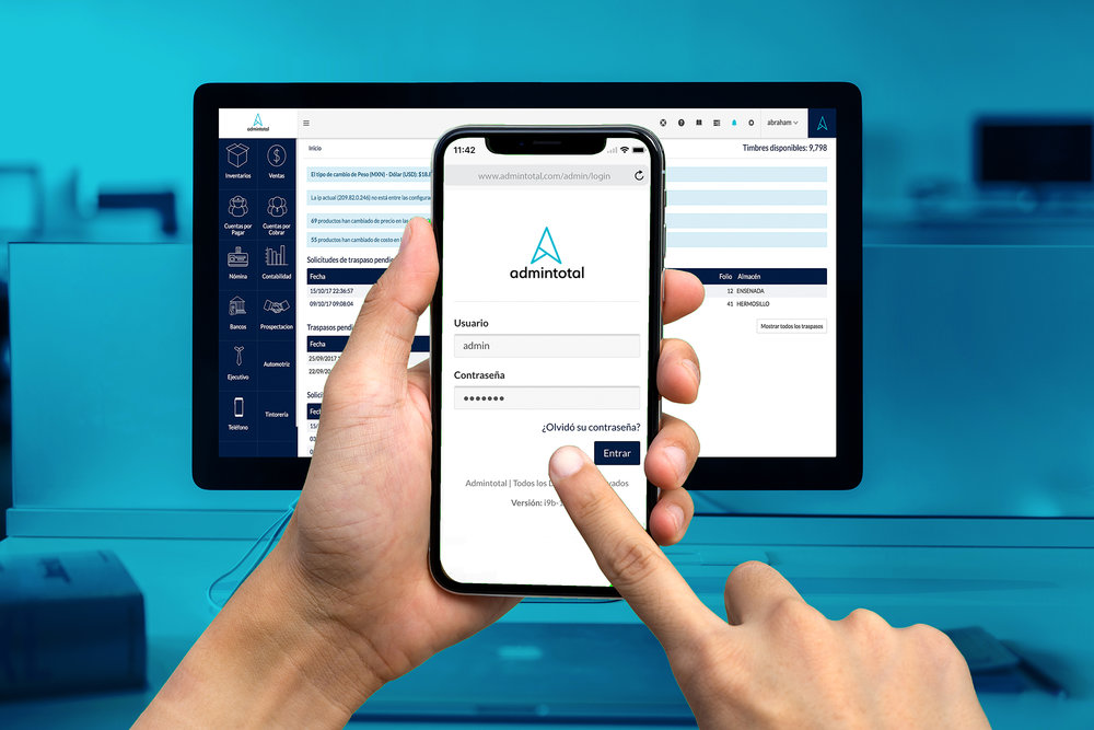 ADMINTOTAL - Is cloud-based administration software that allows you to manage your company from any mobile device.OPEN PROJECT