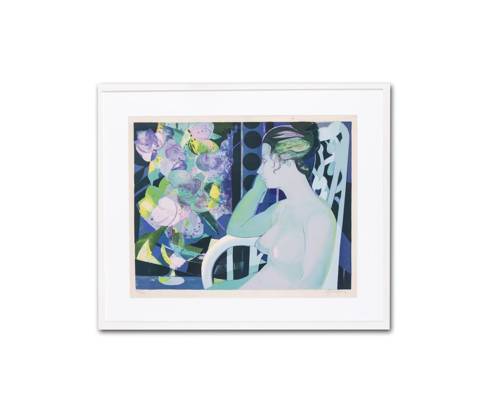 Camille Hilaire      Reflections before summer blooms     Lithograph    Numbered '115 / 150' (lower left) and signed 'Hilaire' (lower right)    29 x 34.1/2 in. (73.7 x 87 cm.) (including the frame)     Price: £780