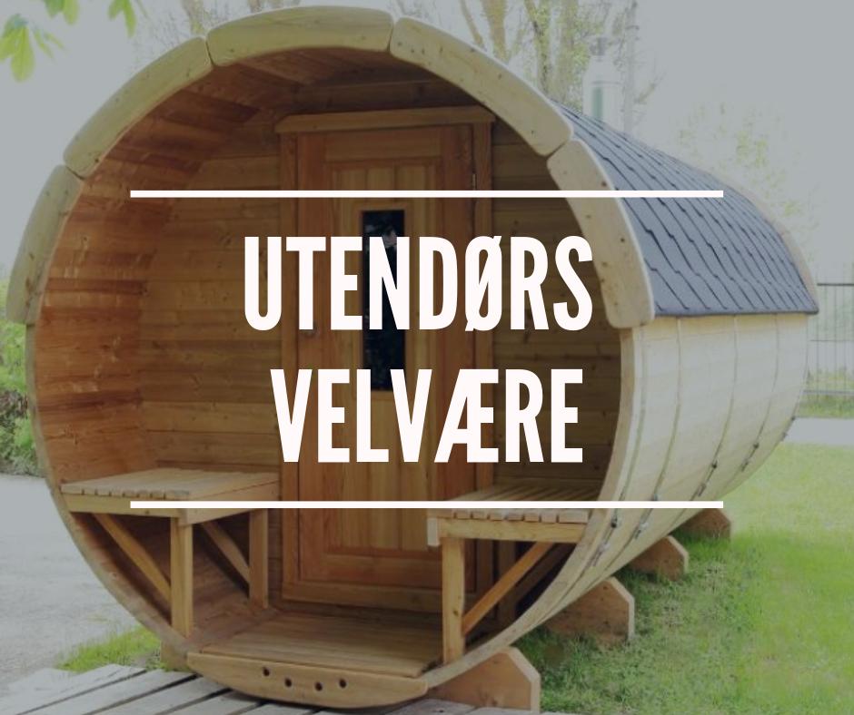 Grillhytter, badestamper og badstutønner - Vi nordmenn er veldig glade i å bruke hagen som et ekstra rom i hjemmet eller på hytta, enten med badestamper, badstutønner eller grillhytter.