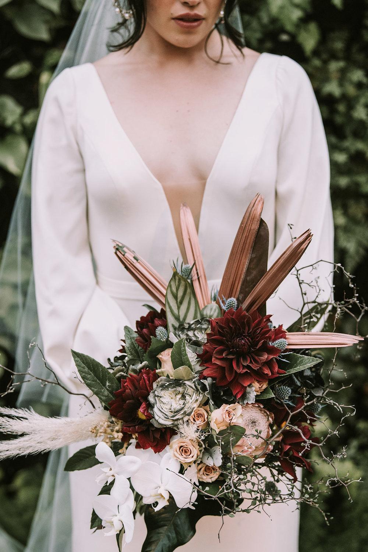 Kirsten & Tom / Glasshaus Wedding
