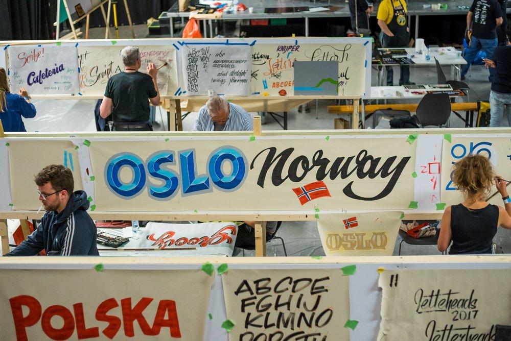 Letterheads 2017: Oslo