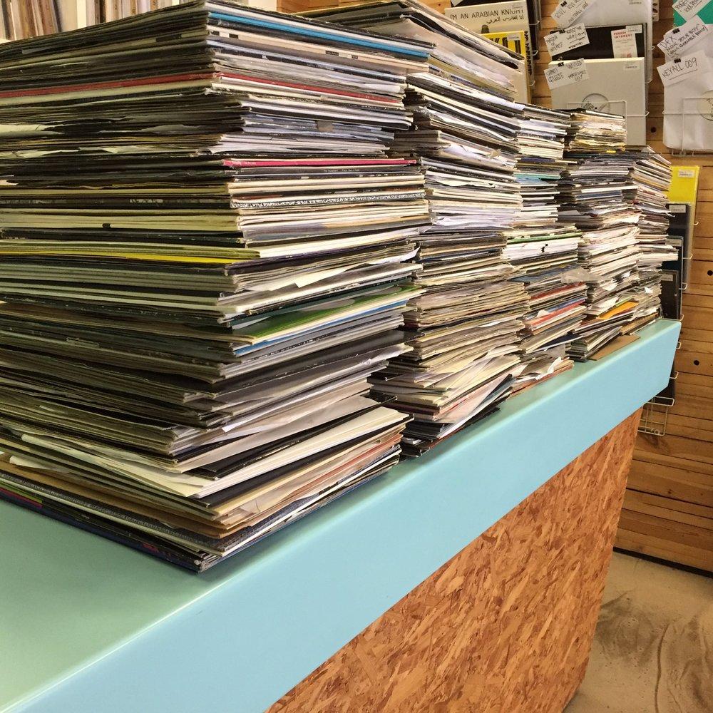 Stacks upon stacks upon stacks!