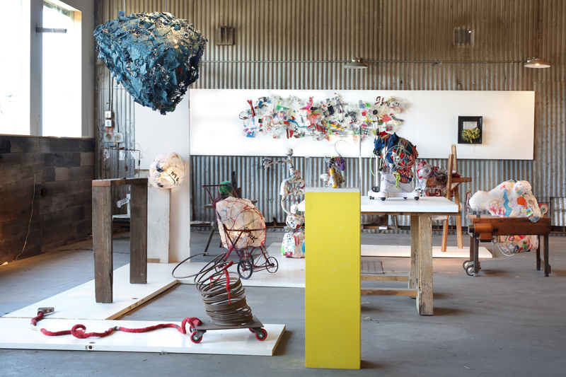 Alternative Cosmos: New Dimensions In Plastic And Trash, Reclaimed Room, San Francisco, CA (2 Person Invitational)