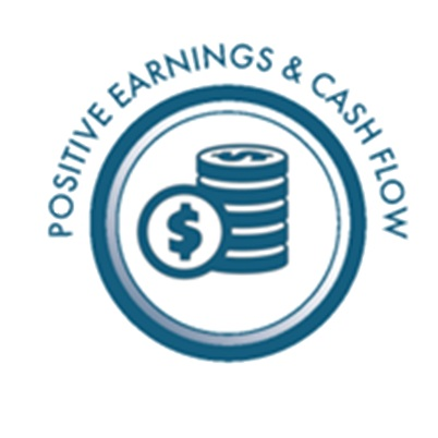 Positive Earnings & Cash Flow- Shaker Investments