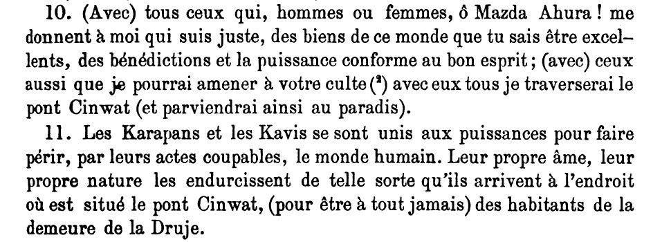 Gathas XLVI 10-11 (P 353)