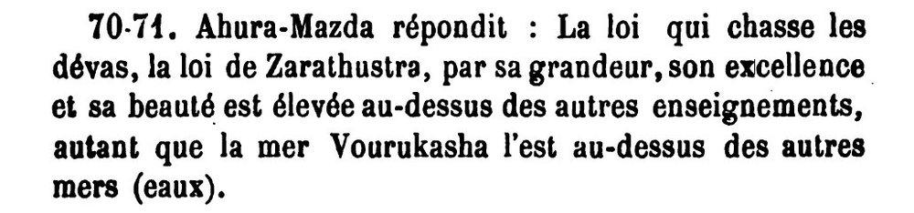Fargard V 70-71, P 131