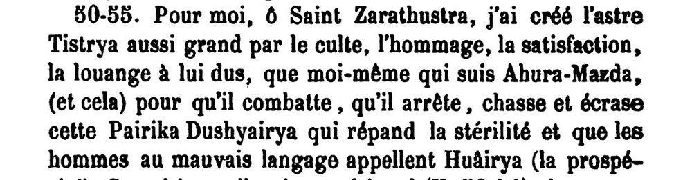 Tir-Yesht VIII- V.8.9, P 222