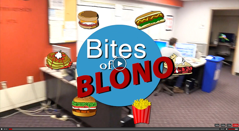 ISU's Channel 10 named us a Best Bite of BloNo!   Watch their visit   and see behind the scenes.