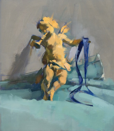 Angel Blue Ribbon