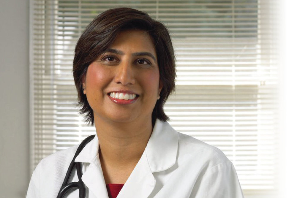 """""""My mission is to relentlessly battle cancer while giving my patients gentle guidance and support."""" - Dr. Shyamali SinghalFounder of Hope & Beauty"""