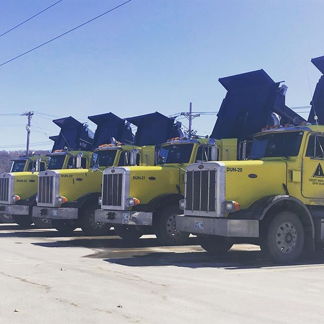 Not your typical #fleetweek . . #trucking #dumptrucks #truckfleet #dowork #whatsyourhandle