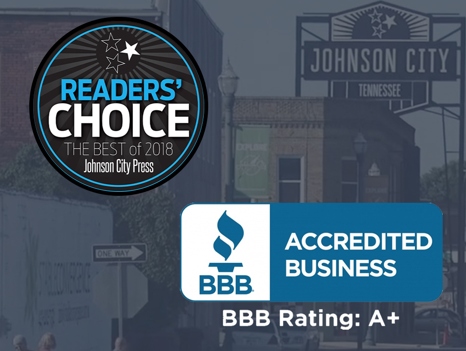 About - Thanks for voting us #1 in the Tri Cities! We are Licensed, Bonded, and Insured and have received a BBB A+ rating. We provide 27/7 service and free estimates.