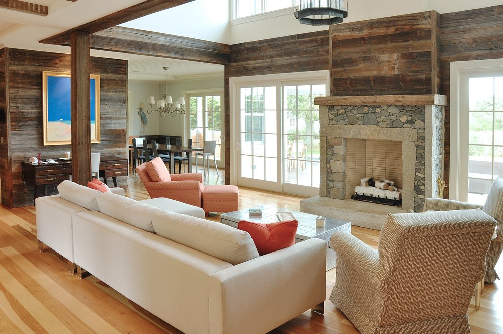 Barnwood_Paneling_Pebble_Fireplace_Greatroom_Open_Concept_Living_Room.jpg
