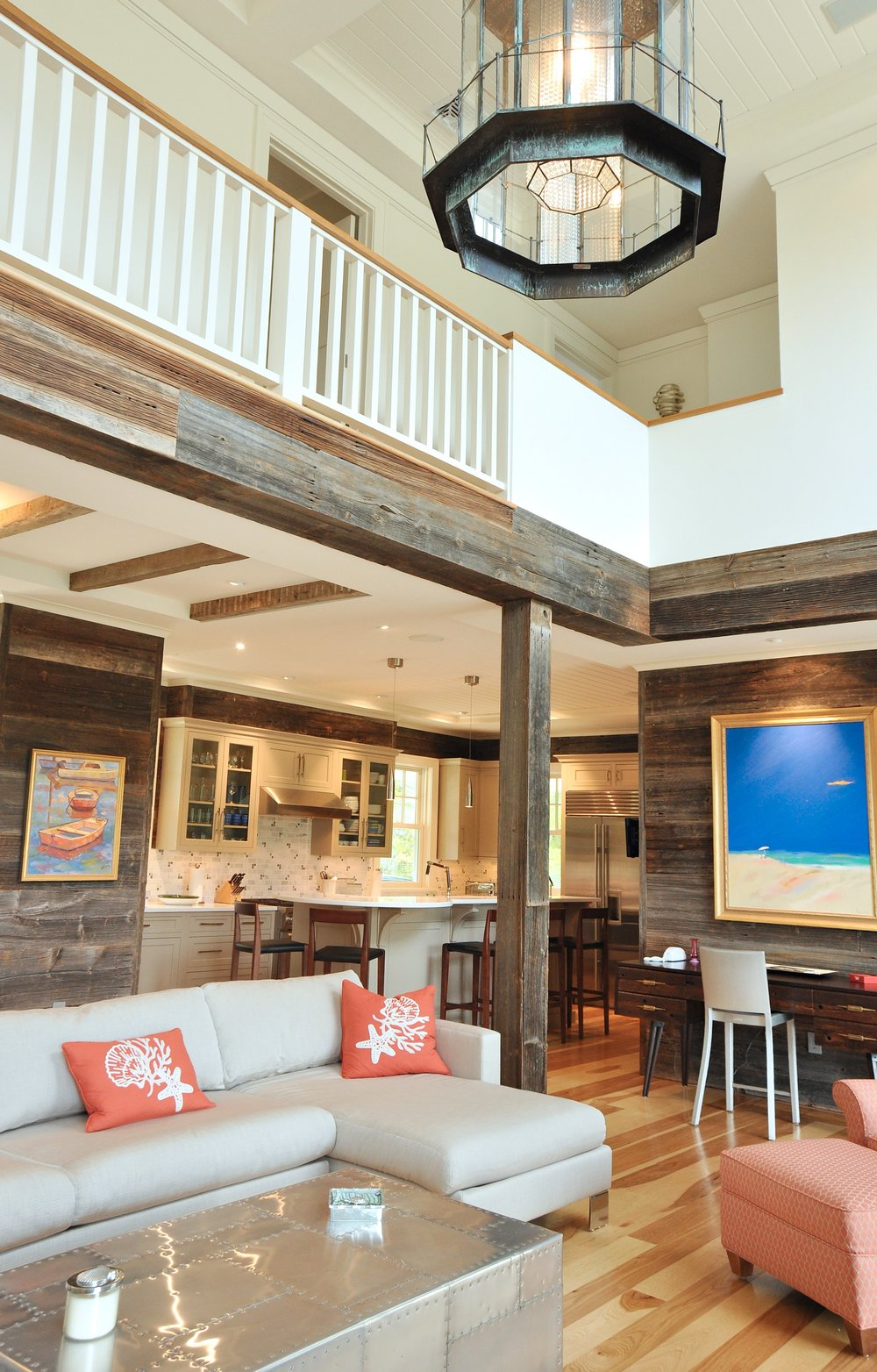 Barnwood_Loft_Railing_Lantern_Glass_Chandelier_Vaulted_Ceilings.jpg
