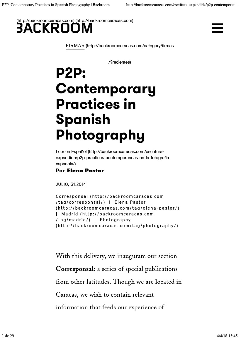 Contemporary Practices in Spanish Photography | Backroom-1.jpg