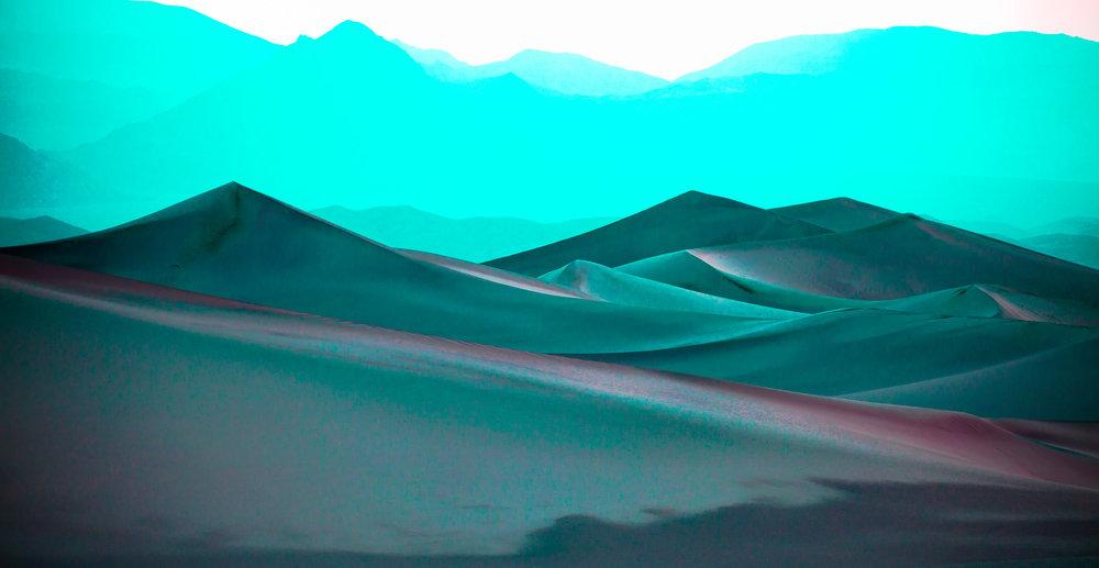 Turquoise Dunes