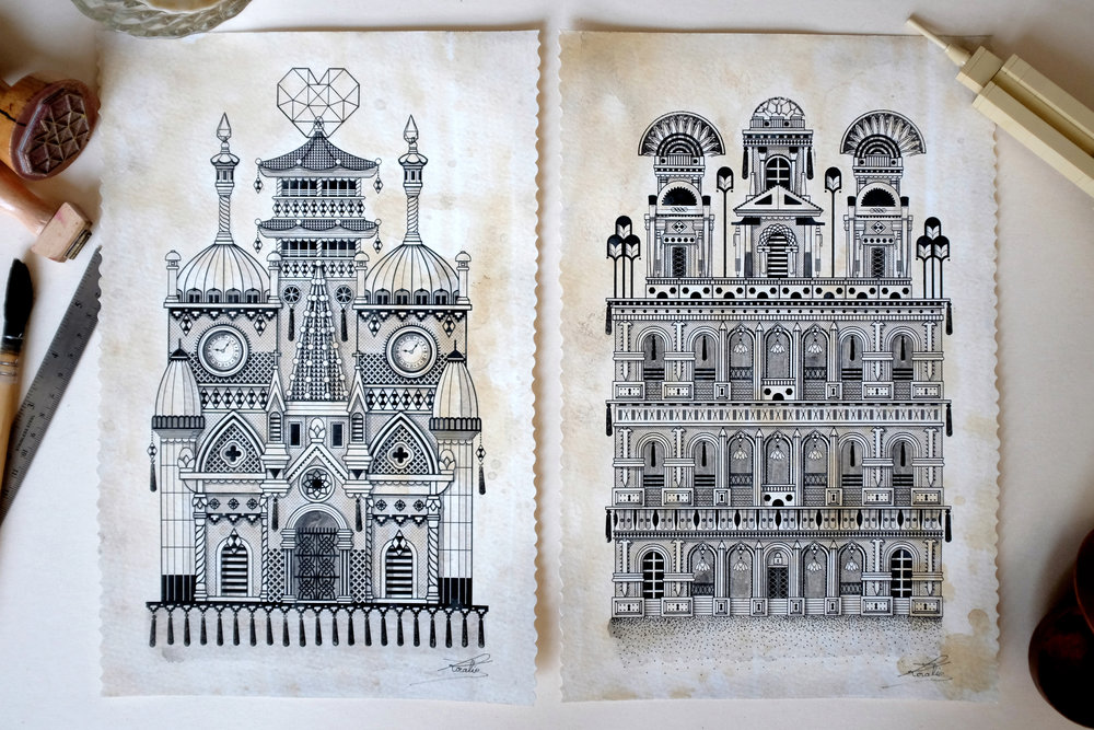 Sulpice & Sapoï  - Digital illustration   2015