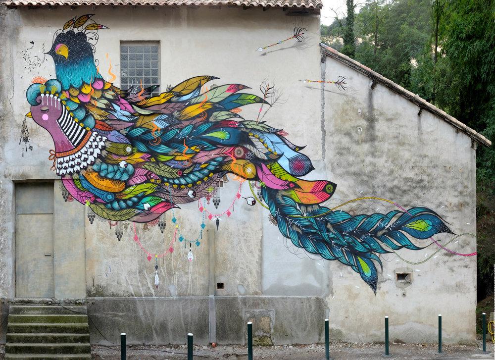 The double-headed bird  - Clinique du parc, Casttelneau-le-Lez - FR | 2014 w/ SupaKitch