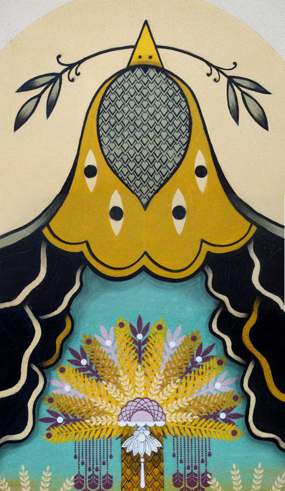 Bird, palm heart  - Artscape Festival, Götheborg - SWEDEN | 2016 w/ SupaKitchh