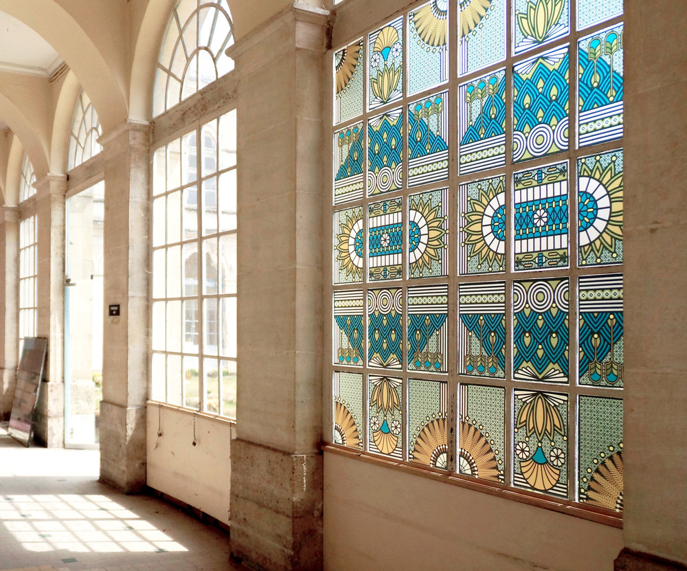 Porte-Madeleine  - Stained glass windows, hospital of Orléan - FR | 2017