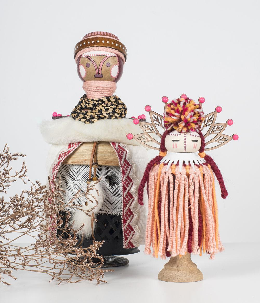 Ceressea & Selenas  - Kochika, statuette   2018