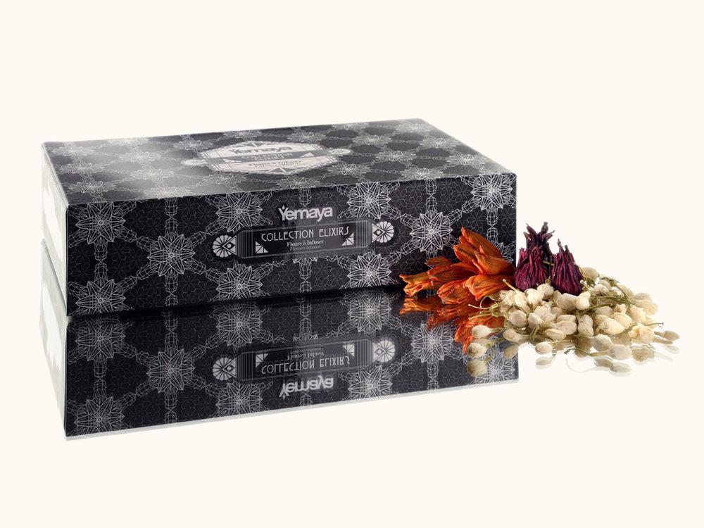 Elixir  - Tea box for Yemaya - Collaboration | 2014