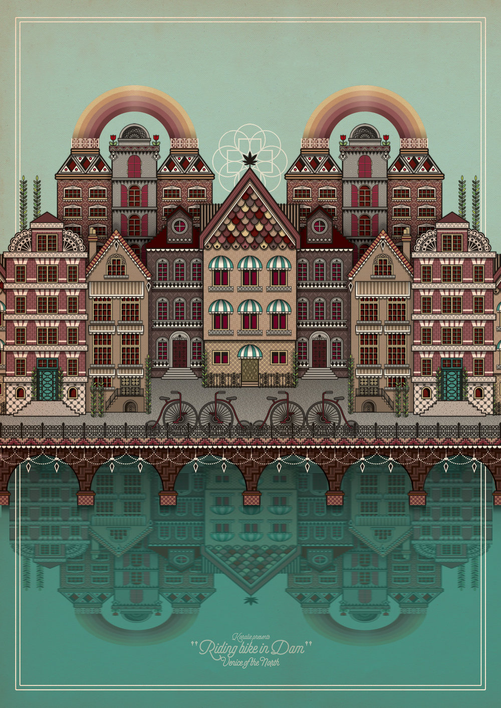 Dam  - Digital illustration   2014