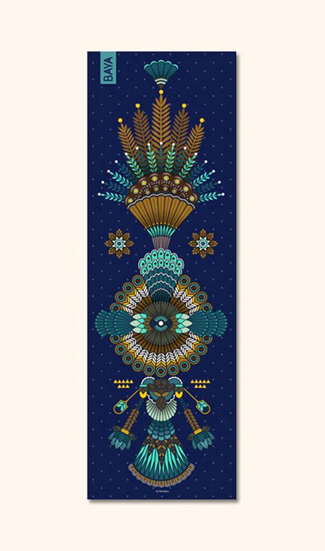 Hikkaduwa  - Yoga rug for Baya - Collaboration | 2017