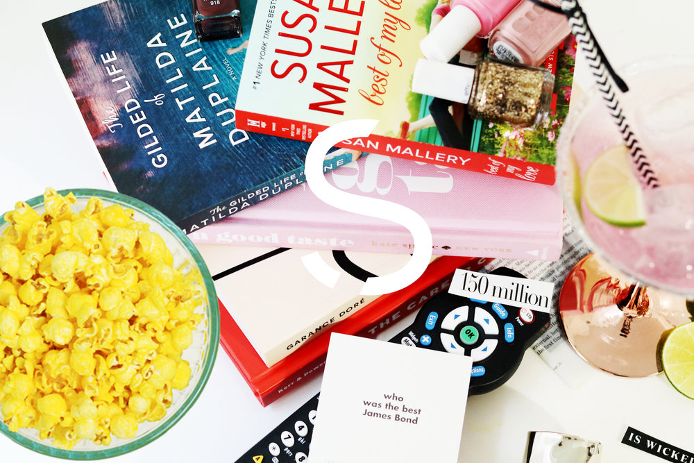 what to read + watch -