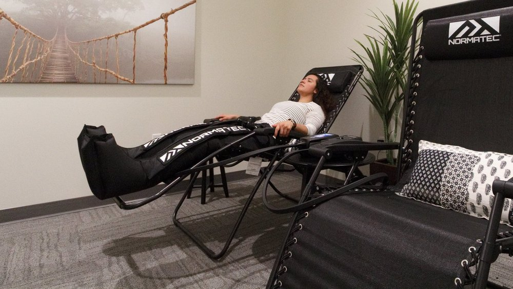 Normatec: a State of the art rapid recovery system - The leading edge of recovery technology.