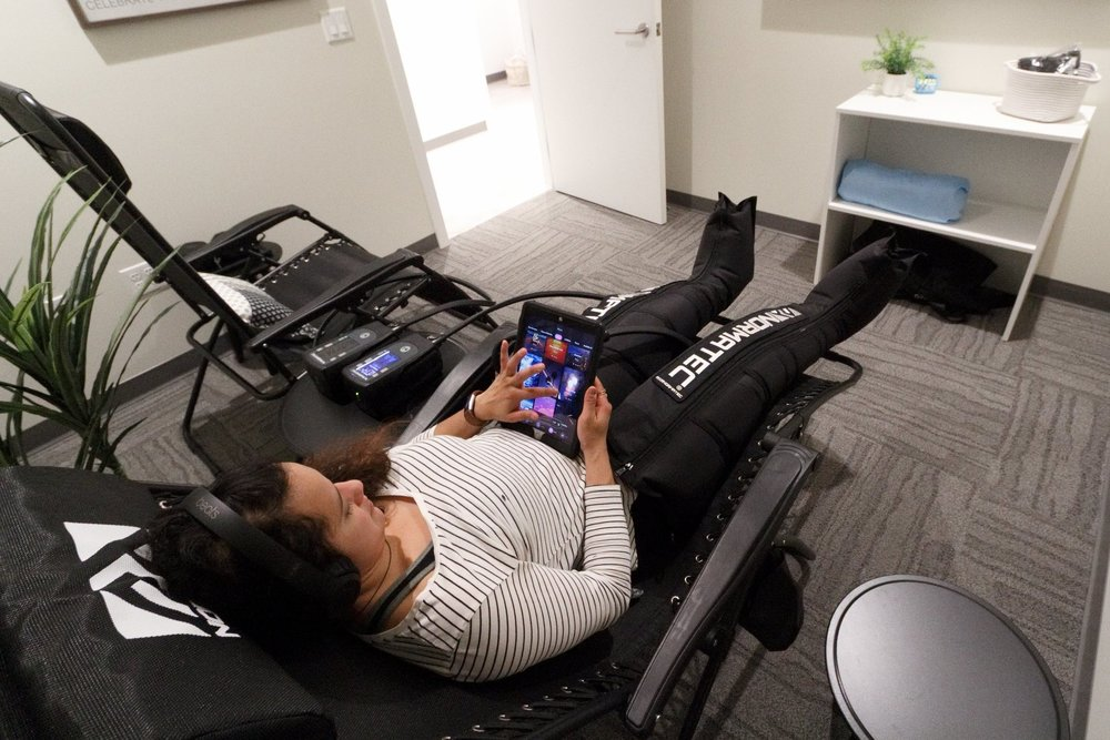 Normatec Compression Therapy Slabtown, Portland, OR