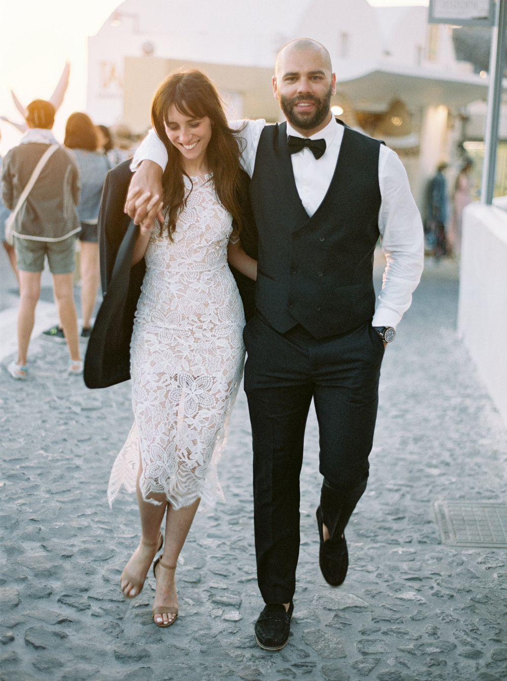 Photo by Katie Grant as part of our Anniversary shoot in Santorini, Greece