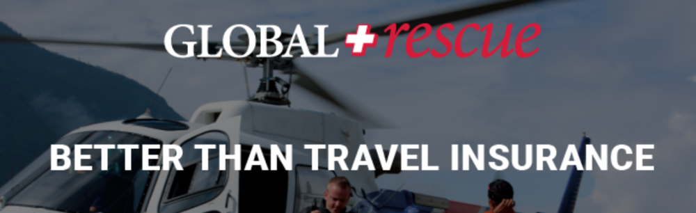 Global Rescue - integrated medical, security and travel assistance services10% discount for Medical/Security Evacuation Insurance