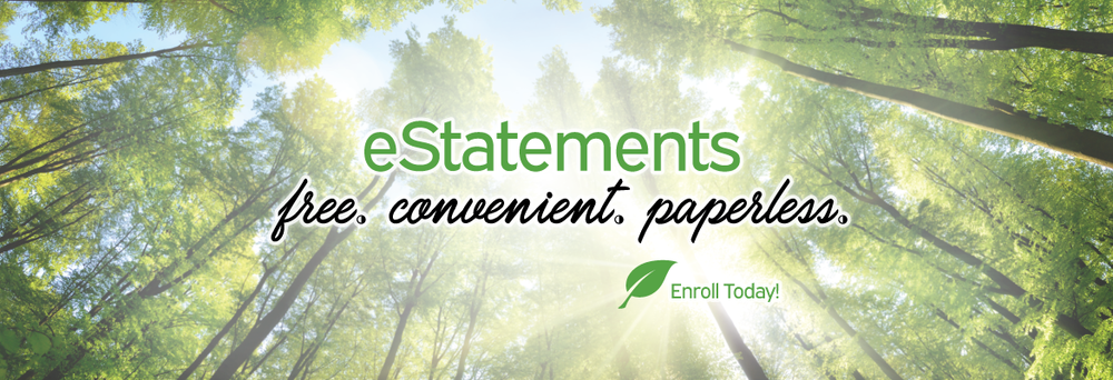 Estatements, free, convenient, paperless
