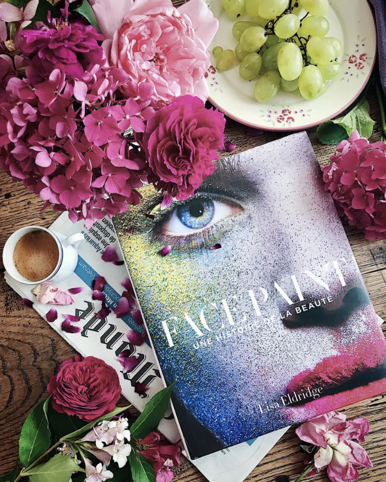Facepaint: The Story of Makeup by Lisa Eldridge - photo by @bea7507