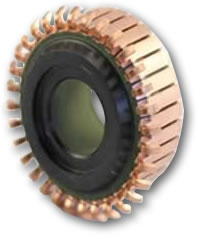 Tang style commutator for brush style electric motors.