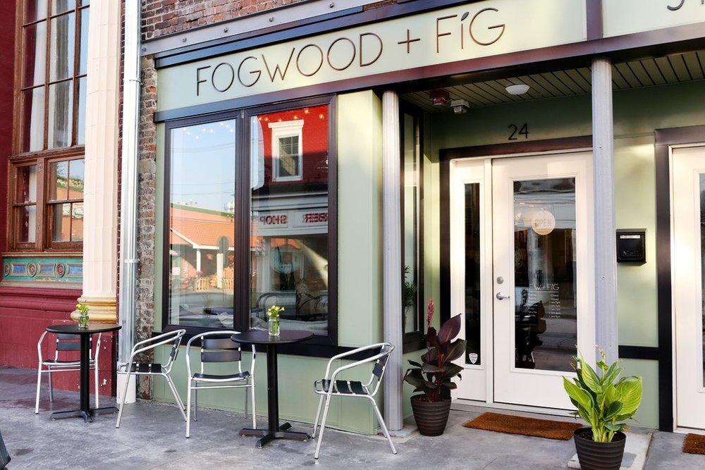 Our favorite restaurant, Fogwood + Fig