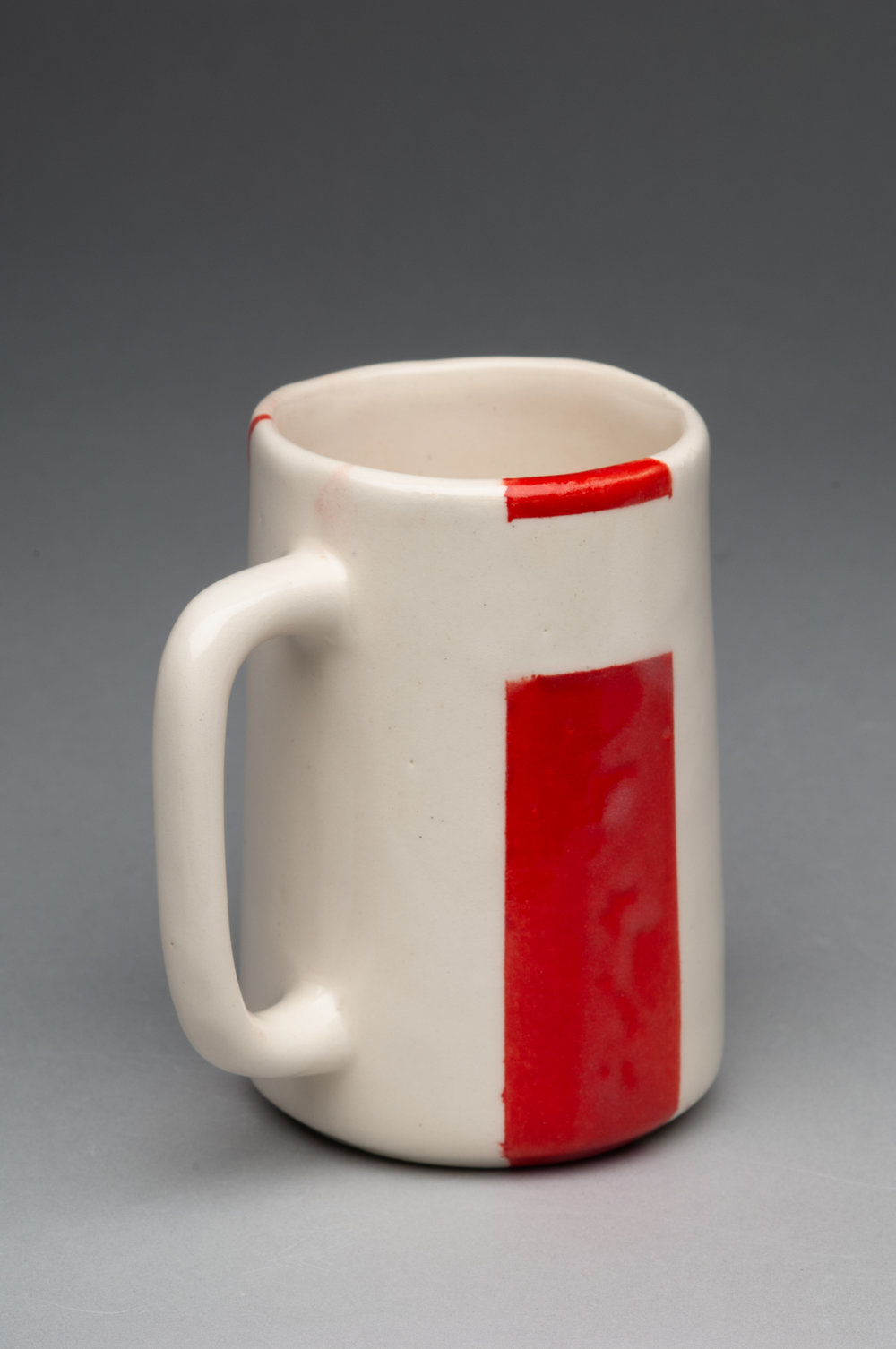 Red 70's Lg Cast Cup