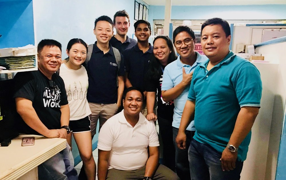 Our Initiatives consultants at a client site in the Philippines, working on a market research project for a repeat-client.