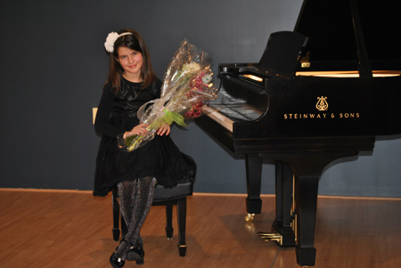 Spring and Fall Recitals - Students get the opportunity to display a more classically oriented repertoire at our recitals held at Steinway Piano Gallery.