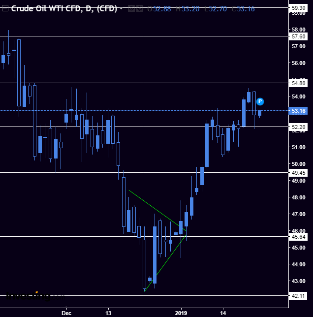 Crude / USO - As crude rejected the 54.80 resistance, we are expecting some consolidation before testing 42 and confirming a possible double bottom. This is only if SPX / SPY continue bearish as shown above.