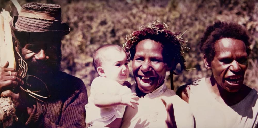 Born in Papua New Guinea.
