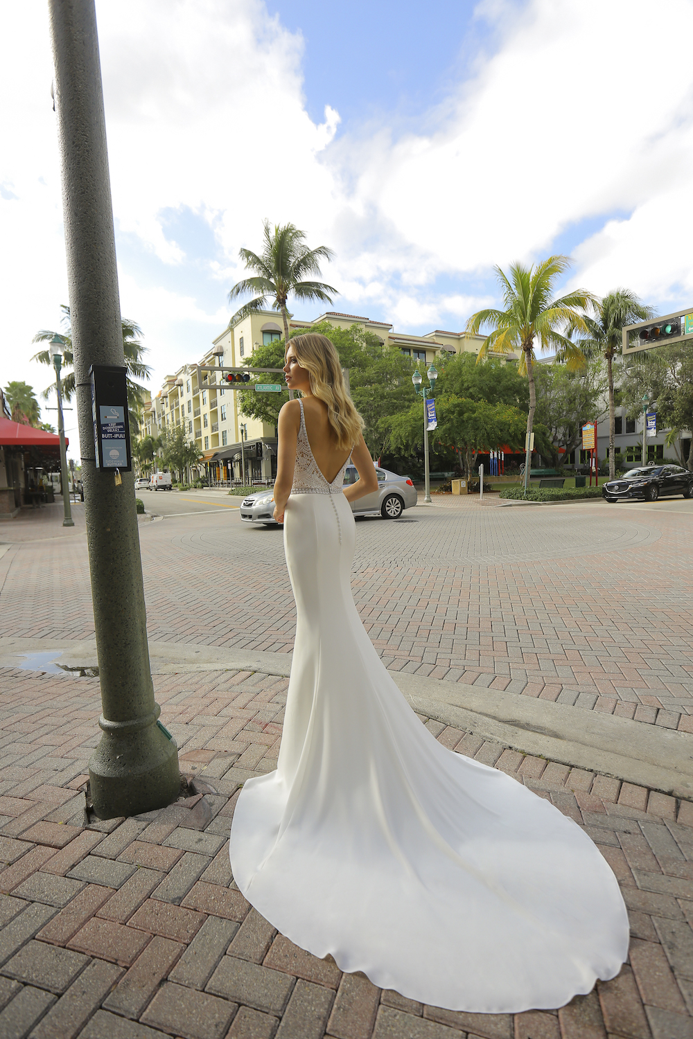 Avery Wedding Dress from the Silver Springs Collection by Randy Fenoli